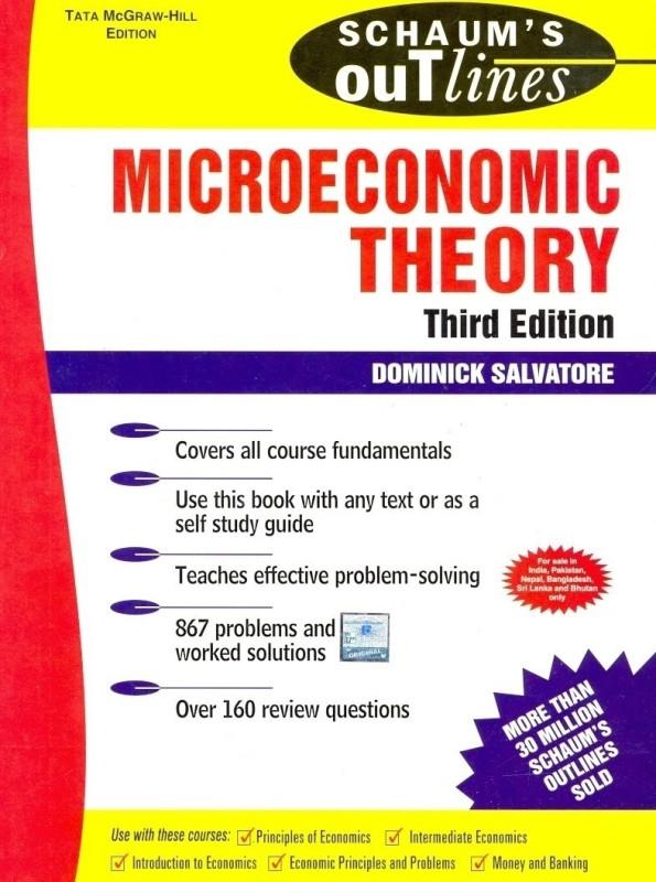 Microeconomics Theory(English, Paperback, Salvatore Dominick)