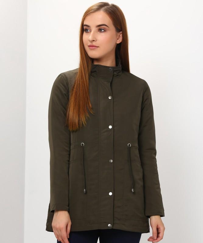 Allen Solly Full Sleeve Solid Women Jacket