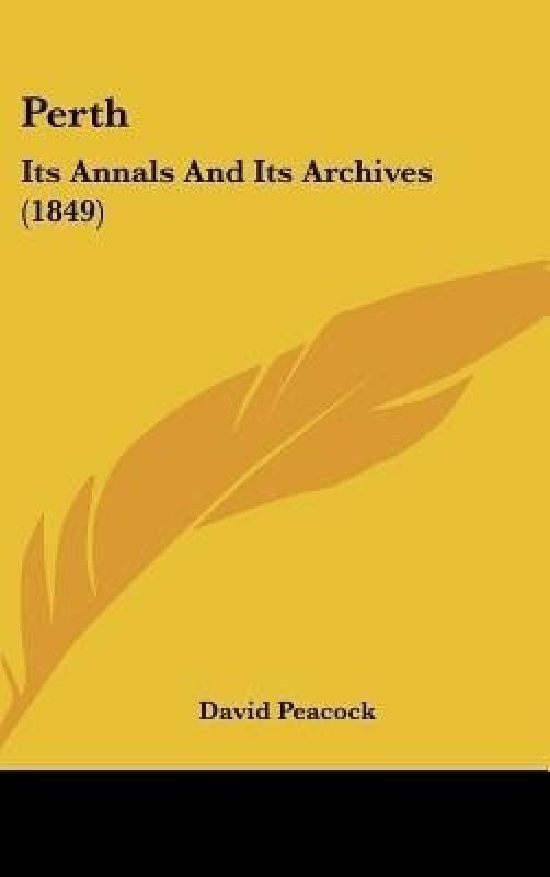 Perth(English, Hardcover, Peacock David)