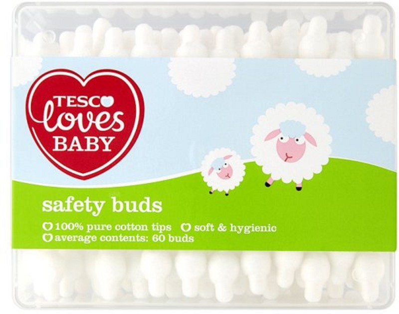 Tesco Loves Baby Safety Buds - 60 Pcs(60 Units)