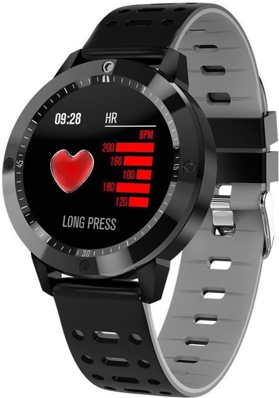 Opta SB-056 Fitness Black Smartwatch(Black Strap Free Size)