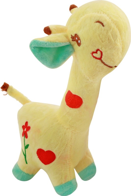 Miss & Chief Soft Cute Giraffe Plush Toy Suffed Cartoon Animal Dear...