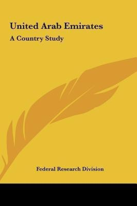 United Arab Emirates(English, Hardcover, Federal Research Division Research Division)