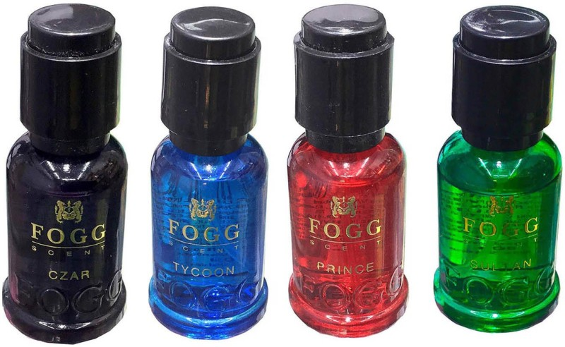 Fogg Perfume Scent Czar, Prince, Sultan & Tycoon Scent 30ml x 4 Perfume Body Spray - For Men & Women(120 ml, Pack of 4)