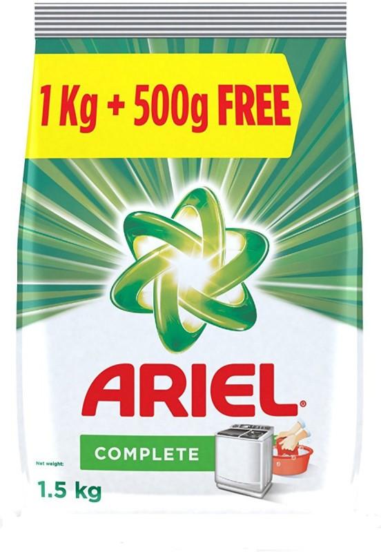 Ariel Complete Detergent Washing Powder 1.5 kg Regular Detergent Pod