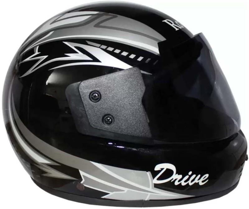 ROTOMAC E Motorbike Helmet(Black)
