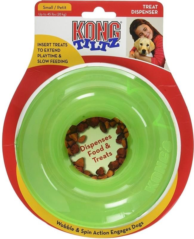 Kong Tiltz Food & Treat Dispenser Interactive Dog Toy (Small) Pet Food Dispenser(20 kg)