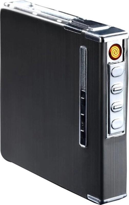 iZED SILVER FLAMELESS 1 Flameless Rechargeable Lighter Cum carry Pocket Lighter(SILVER)