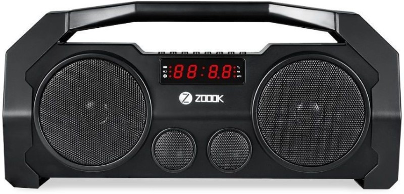 Zoook boombox plus 32 W Portable Bluetooth Speaker(Black, 4.1 Channel)