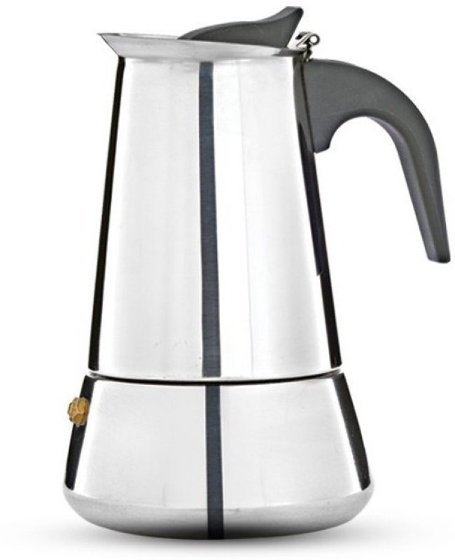 Pigeon Xpresso Stainless Steel Coffee Percolator, 500ml Personal Coffee Maker(Silver)