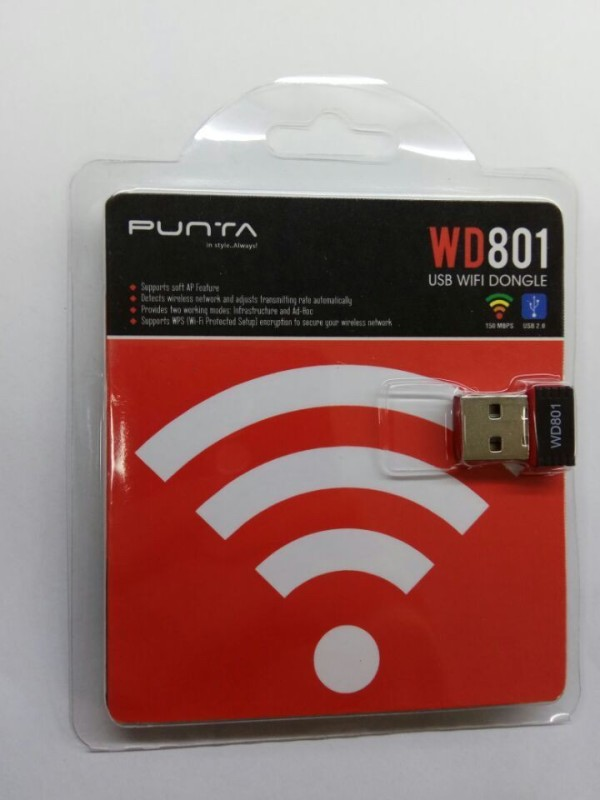 Punta wifi dongle USB 801 150 Router(Black, Dual Band)