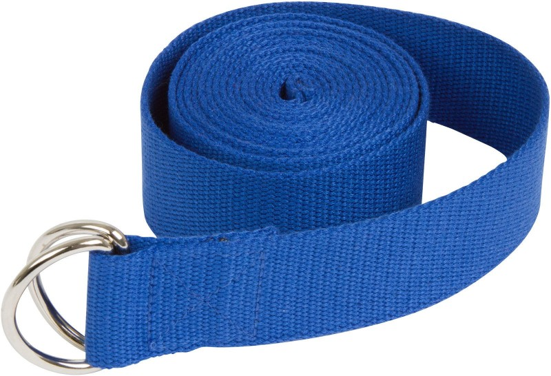 Ipop Retail YB BLUE6 Cotton Yoga Strap(Blue)