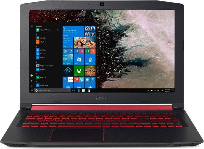 Acer Nitro 5 Core i7 8th Gen - (8 GB + 16 GB Optane/1 TB HDD/Windows 10 Home/4 GB Graphics) AN515 52 76VR Gaming Laptop(15.6 inch, Black, 2.7 kg)