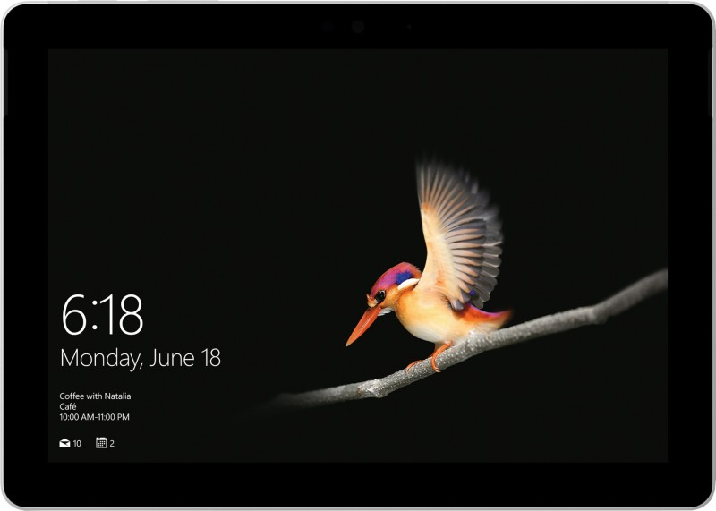 Microsoft Surface Go Pentium Gold - (4 GB/64 GB EMMC Storage/Windows 10 Home in S Mode) 1824 2 in 1 Laptop(10 inch, Silver, 0.522 kg)