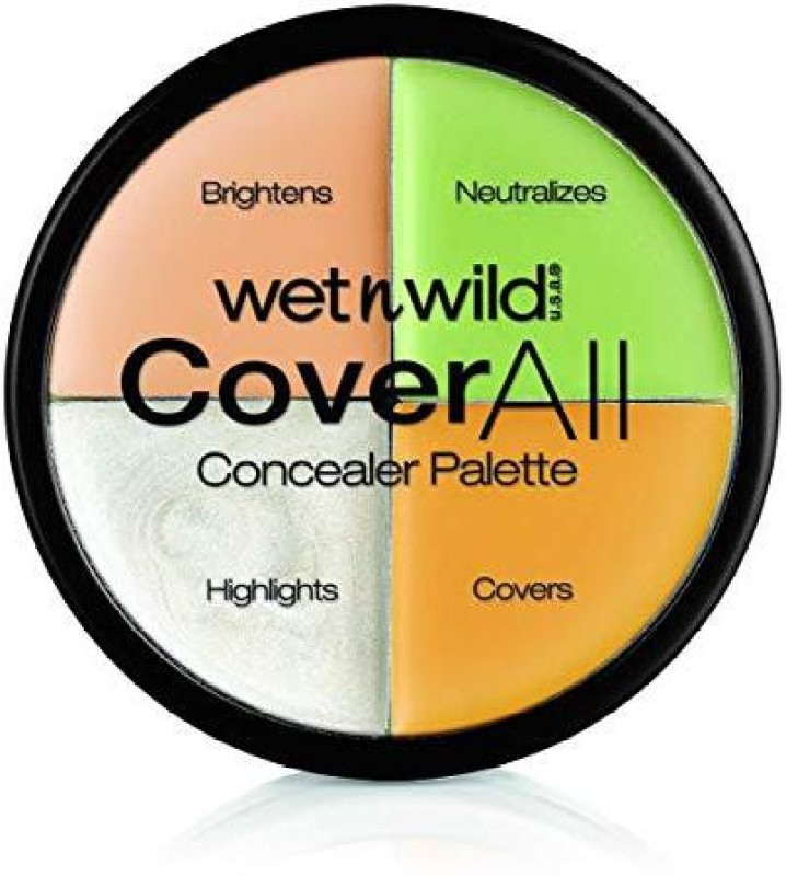 Wet n Wild CoverAll Concealer Palette - Concealer(Color Commentary, 6.5 g)
