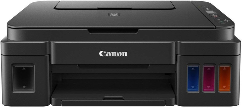 Canon Pixma Ink Efficient G2010 Multi-function Color Printer(Black, Refillable Ink Tank)