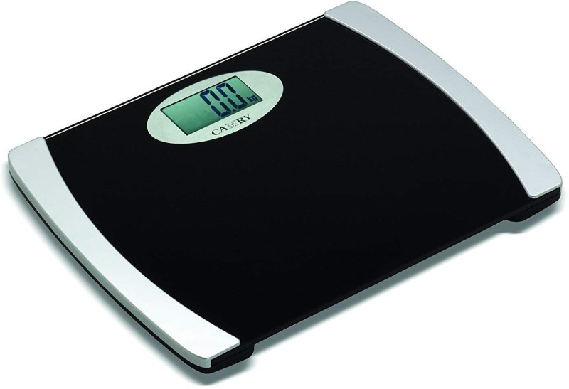 Camry EB9332-S10 With 8 mm Tempered Glass & Wide Platform of 39 cm Electronic Personal Scale Digital Bathroom Scale Health monitor device with Max Capacity 200 kg Weighing Scale(Black & Silver)