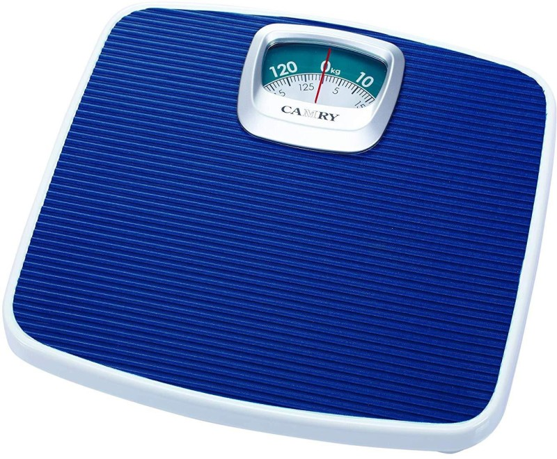 Camry BR2020-07A Mechanical Personal Scale Bathroom Scale Health Monitor Device with Max Capacity 130 kg Weighing Scale(Blue)