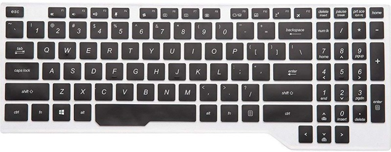 iFyx Keyboard Protector Cover Fit For Asus TUF Keyboard Skin(Black)
