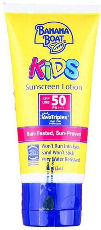 Banana Boat Boat Kids Sunscreen Lotion SPF50 - 90ml (3oz)(90 ml)