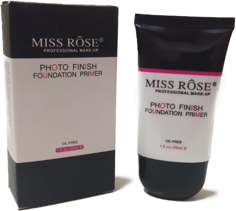 MISS ROSE Oil Free Photo Finish Foundation  Primer  - 30 ml(White)