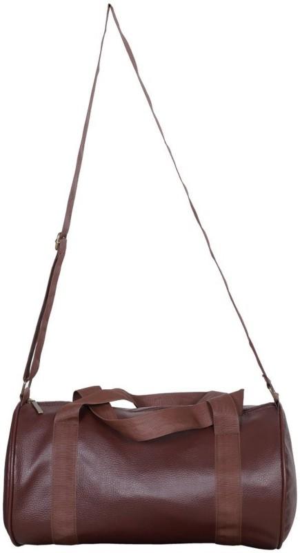 Cp Bigbasket Leather Rite Duffle bag Gym Bag(Brown)