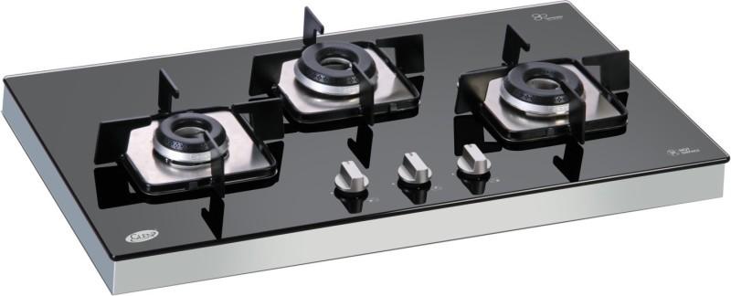GLEN Glass Automatic Gas Stove(3 Burners)