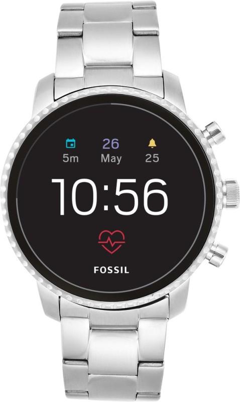 Fossil **** Explorist HR Smartwatch(Silver Strap Regular)