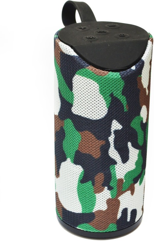 ABlue Clipper Wireless Bluetooth Speaker - Portable Wireless Bluetooth Speaker 5 * 2w Output with FM Radio, USB, Micro SD Card Slot, Mic Compatible with mobiles, Laptop, pc, Desktop, car, 5 * 2w Output 5 Bluetooth Speaker(camouflage, 2.1 Channel)