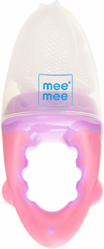 MeeMee Fruit & Food Nutritional Feeder(Pink_Purple)