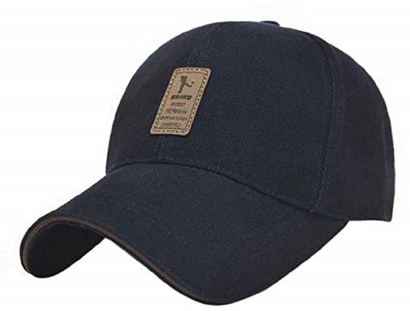 HANDCUFFS HANDCUFF Unisex Cotton Adjustable Baseball Cap (BLACK) Cap