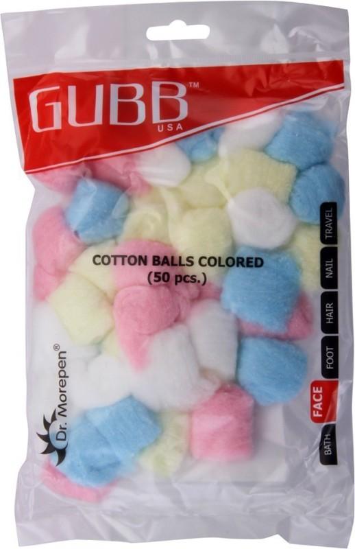 GUBB Cotton coloured balls(50 Units)