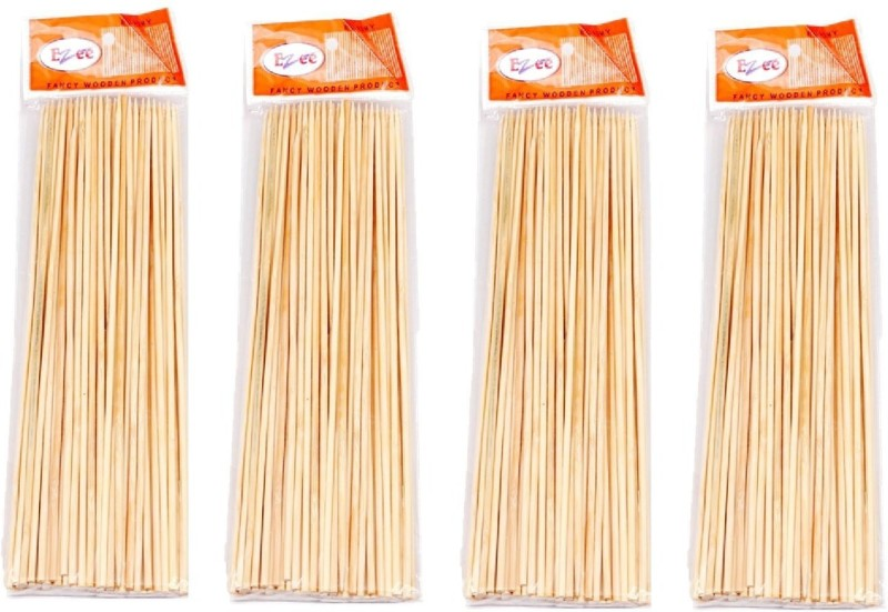 Ezee Disposable Bamboo Roast Fork Set(Pack of 4)