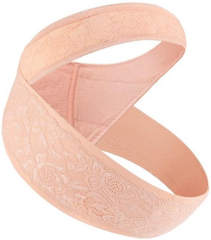 sbe Maternity Pregnancy Prenatal Support Belly Band Waist Back Support(Beige,XL)(Beige)