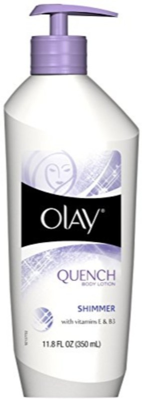 Olay Quench Shimmer Body Lotion Pump 11.80 oz(350 ml)