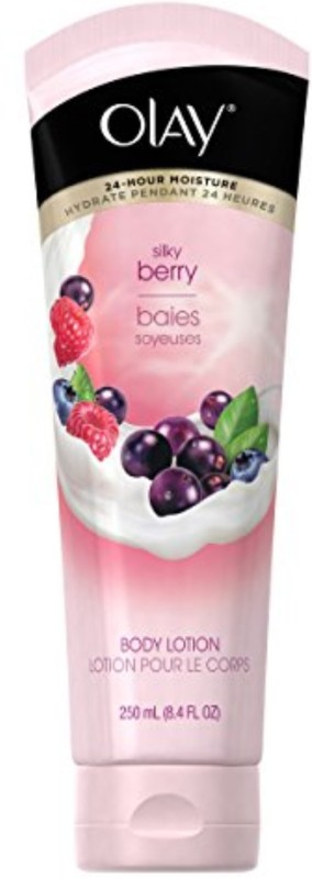 Olay Fresh Moisture Silky Berry Body Lotion, 8.4 Fluid Ounce(250 ml)