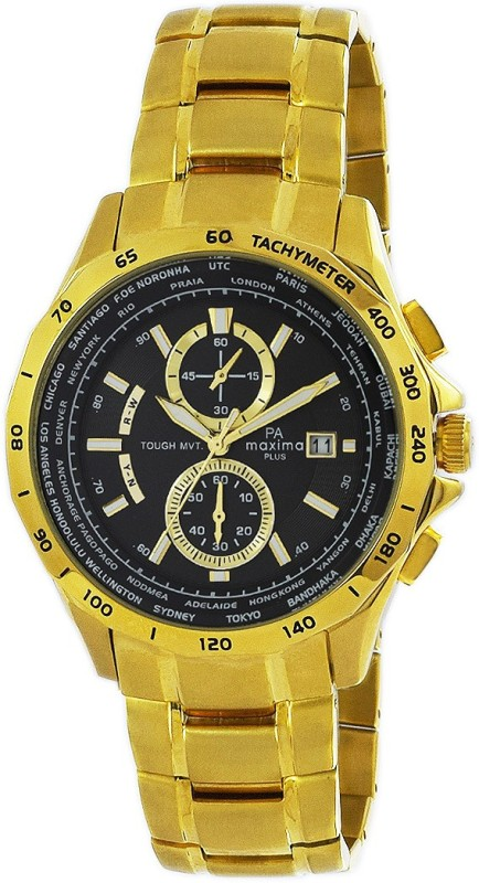 Maxima 46260CMGY Watch - For Men
