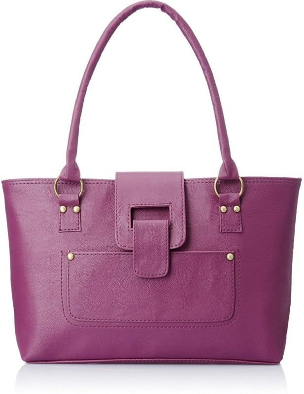 SAHAL Women Purple Shoulder Bag