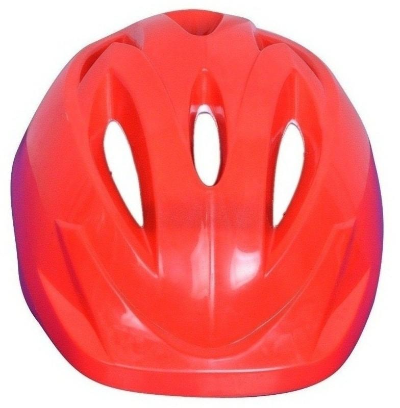 SPORTSHOLIC Light Weight Skating Cycling Helmet Head Guard For Kids Boys Girls 8 To 12 Years Skating Helmet(Red)