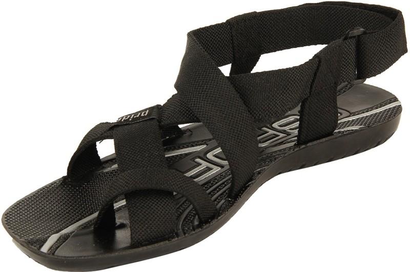 VKC PRIDE Men Black 1523 Sandals