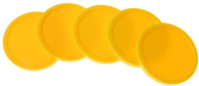 JBB Yellow Air Hockey Puck(Pack of 4)