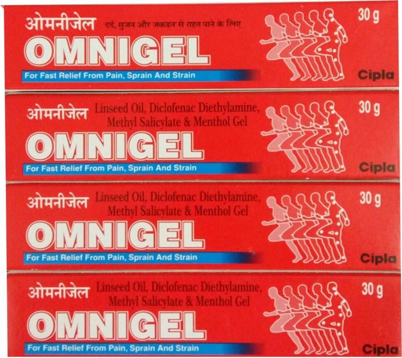 Cipla OMNIGEL 30 GM (PACK OF 4) Gel(30 g)