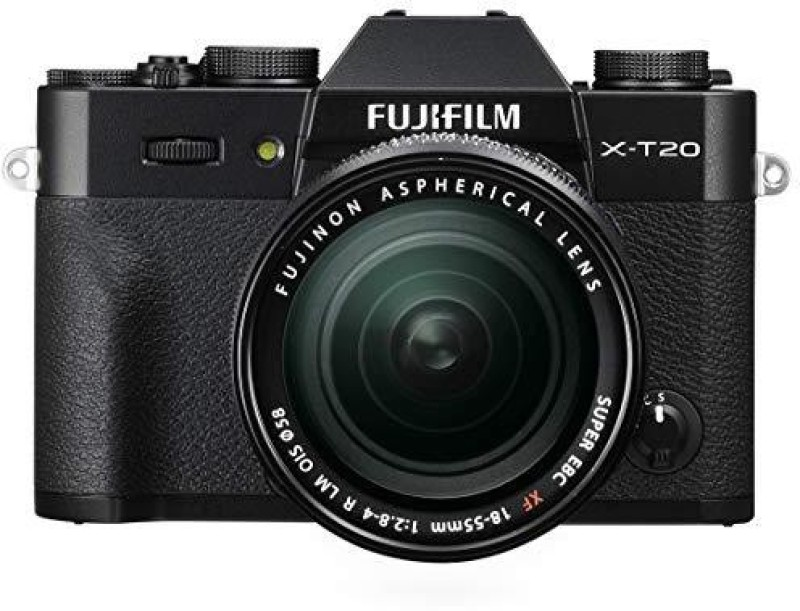 Fujifilm X-T20 with XF 18-55 mm F2.8-4.0 R LM OIS Lens Mirrorless Camera Kit(Black)
