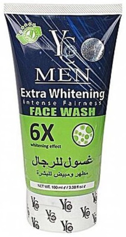 YC 6X Extra Whitening Face Wash for Men Face Wash(100 ml)