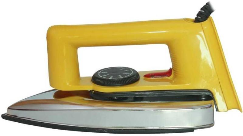 MONIKA DRY IRON 750WATT 750 W Dry Iron(WHIT, Yellow)