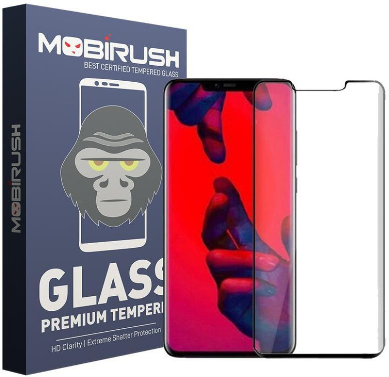 MOBIRUSH Edge To Edge Tempered Glass for Huawei Honor Mate 20 Pro(Pack of 1)