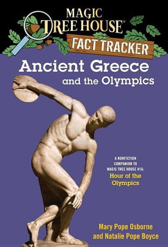 Magic Tree House Fact Tracker #10 Ancient Greece And The Olympics(English, Paperback, unknown)