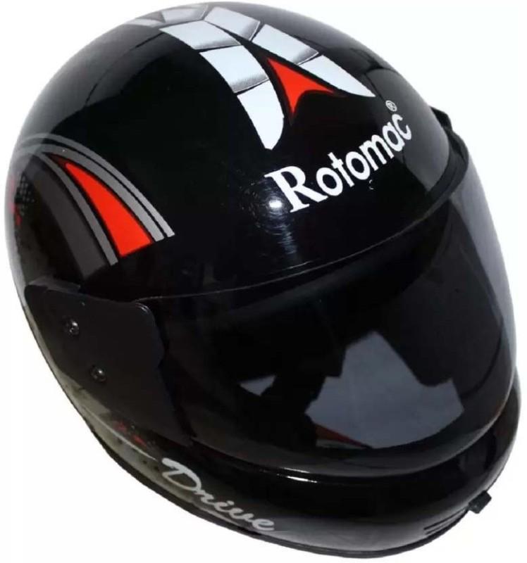 rotomac KBC WER Motorbike Helmet(Black)