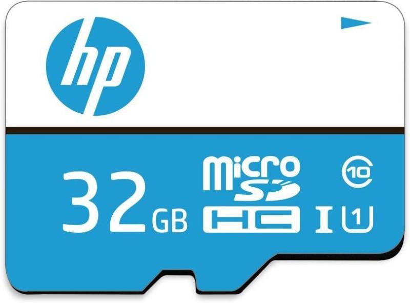 HP U1 32 GB MicroSDXC Class 10 80 Mbps Memory Card