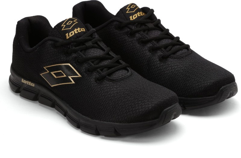 Lotto VERTIGO BLK RUNNING SHOES For MEN 7 Running Shoes For Men(Black)